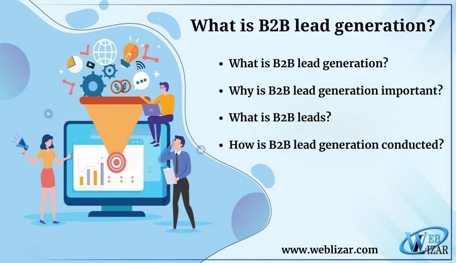 What is B2B lead generation?