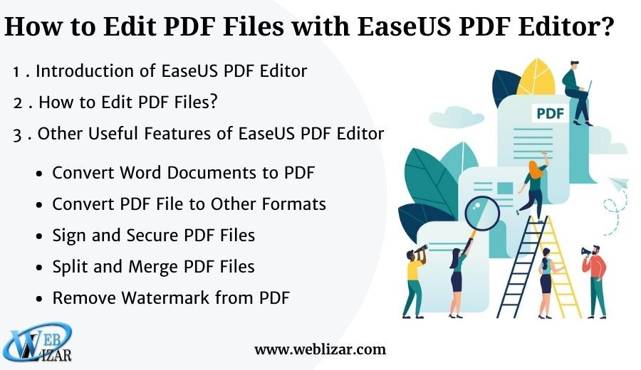How to Edit PDF Files with EaseUS PDF Editor?