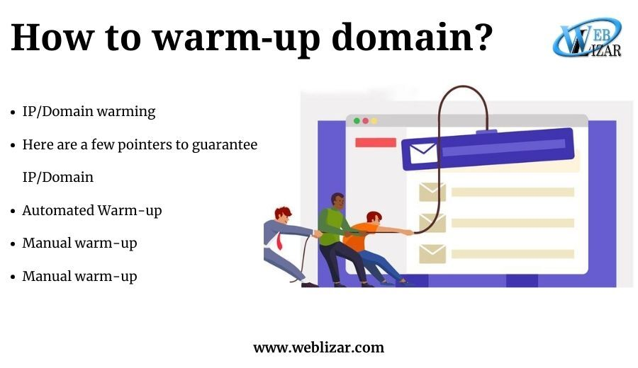 How to warm-up domain
