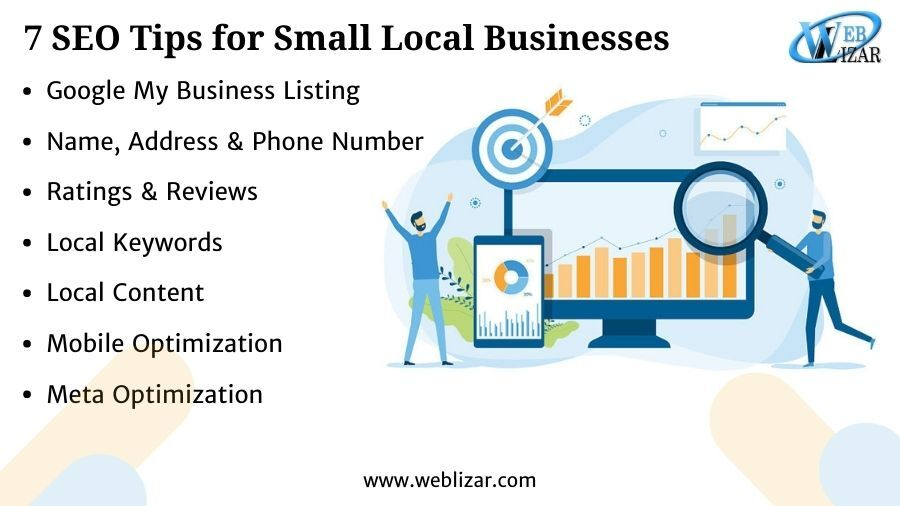 7 SEO Tips for Small Local Businesses