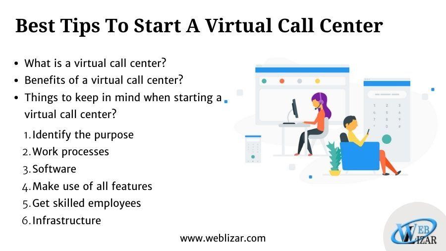 Best Tips To Start A Virtual Call Center