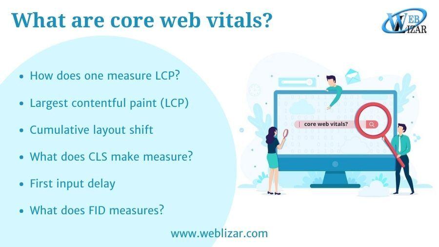 What are core web vitals?