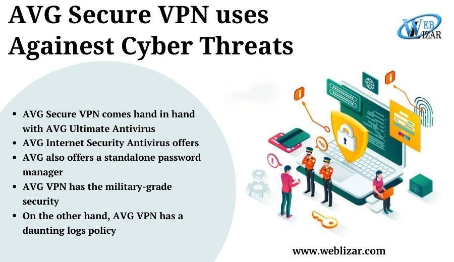 AVG Secure vpn uses against cyber threats