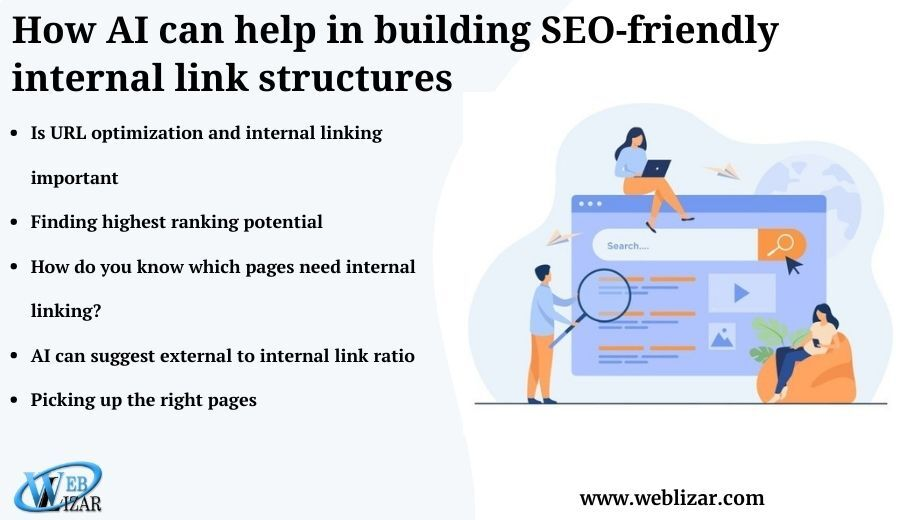 How AI can help in building SEO-friendly internal link structures
