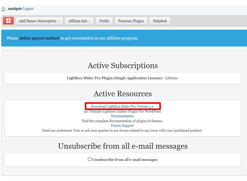Lightbox Slider WordPress Plugins