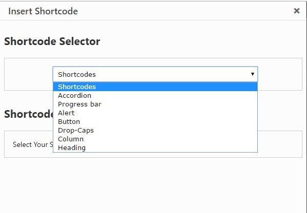 Shortcode