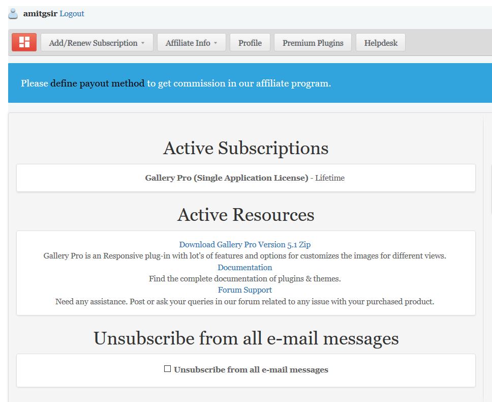 Download Gallery Pro WordPress Plugin