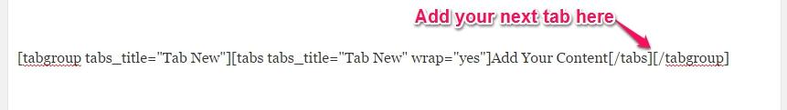 add tab2