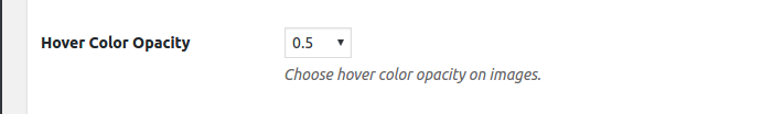Hover Color Opacity