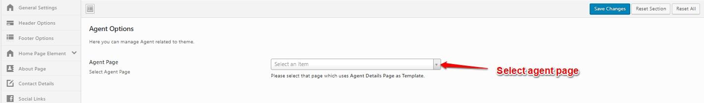 agent options