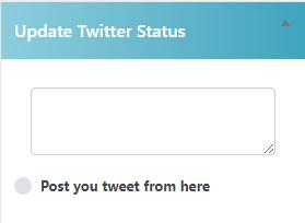 Twitter Tweets Pro Update Status