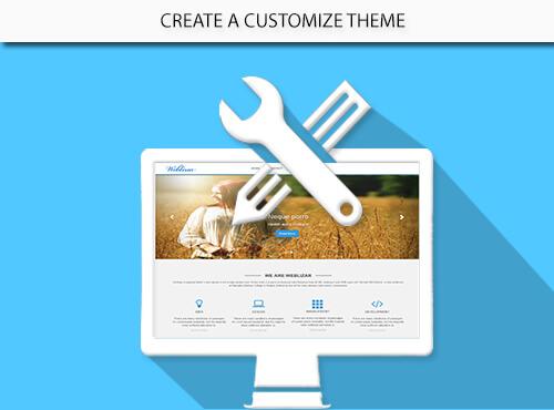 Create Customized Theme