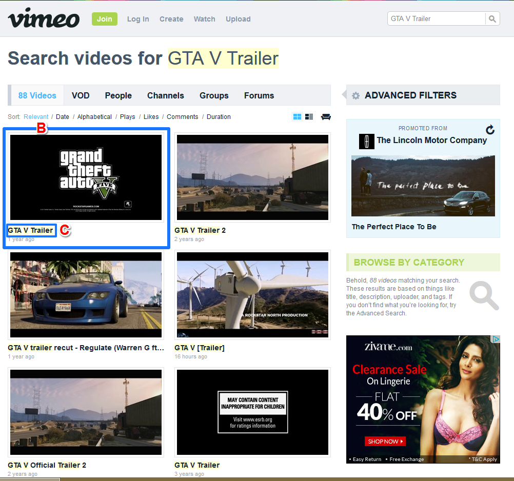 Vimeo Video Result