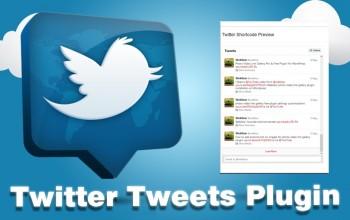 Twitter Tweets WordPress Plugin
