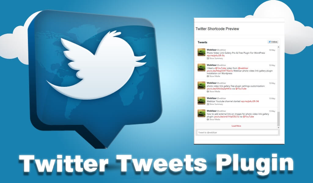 Twitter Tweets WordPress Plugin