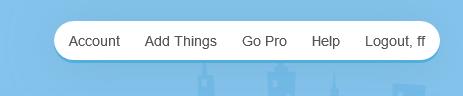 Find API key- Select Account