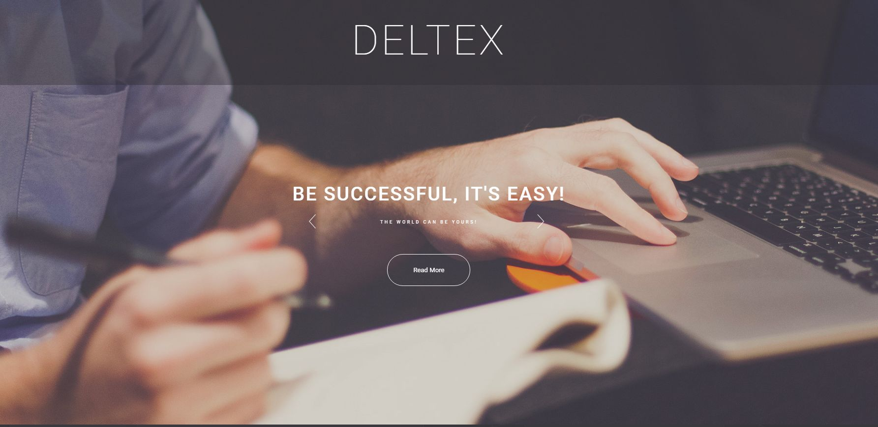Deltex WordPress Theme