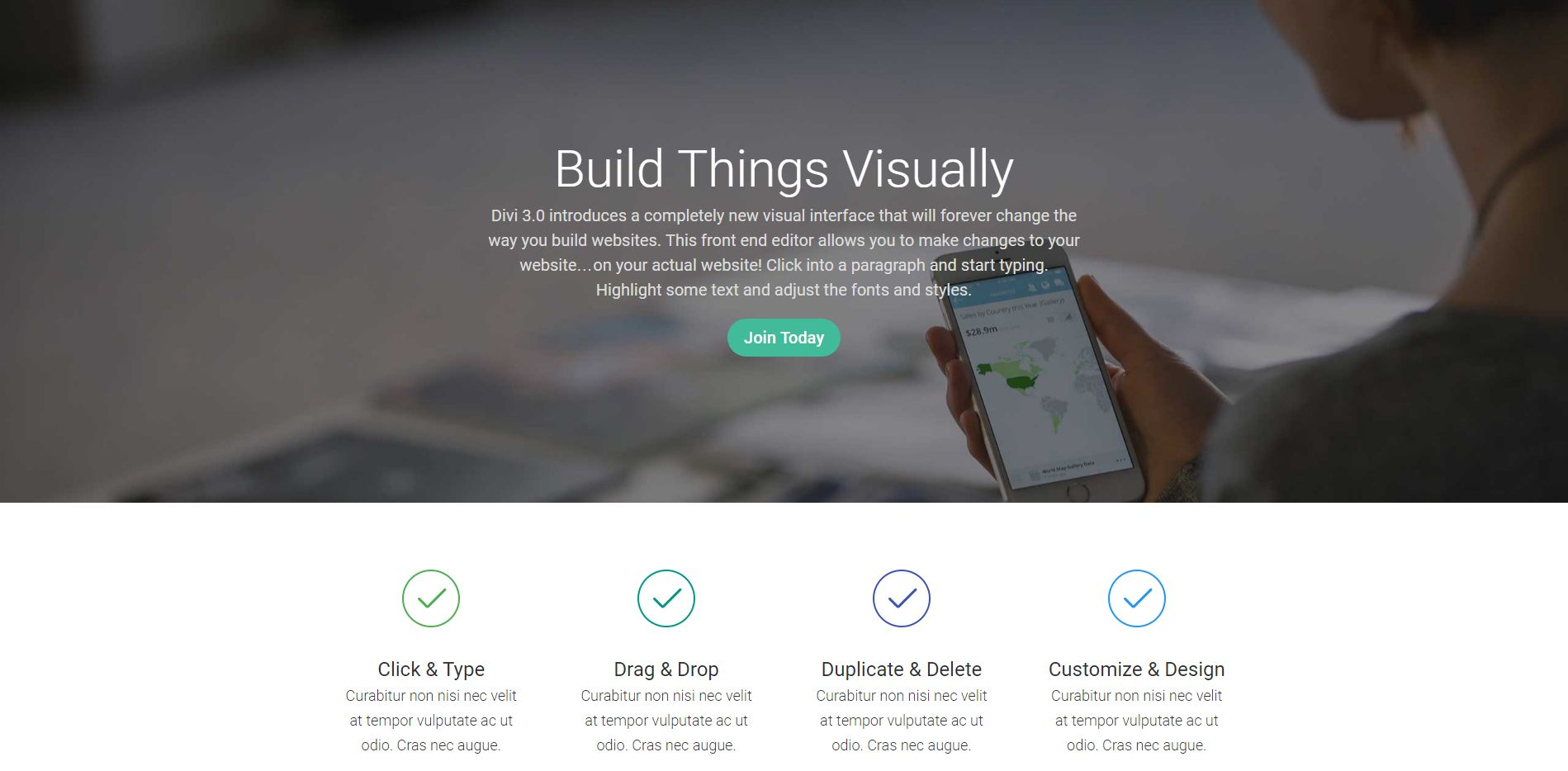 Drag-N-Drop Page Builder WordPress Theme - Weblizar
