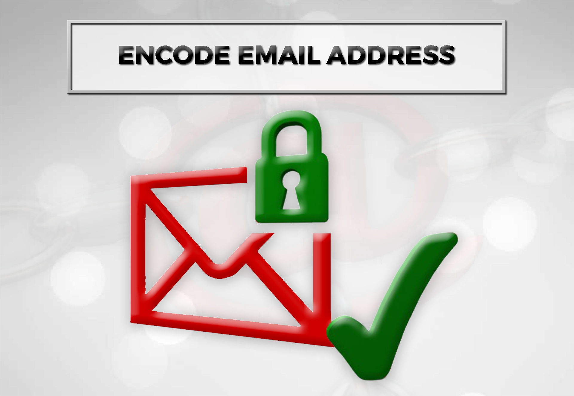 Encode Email Address Red