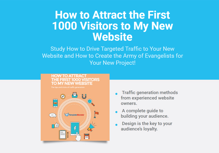 How to Attract the First 1000 Visitors to My New Website