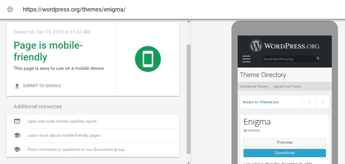 enigma-wordpress-theme-mobile-responsive-test-weblizar