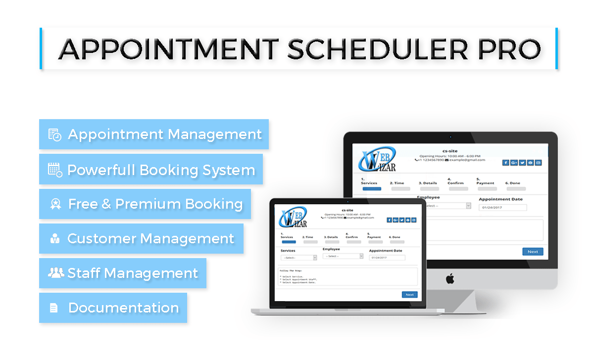 appointment scheduler pro WordPress plugin