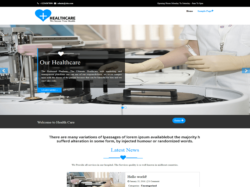 healthcare-wordpress-theme