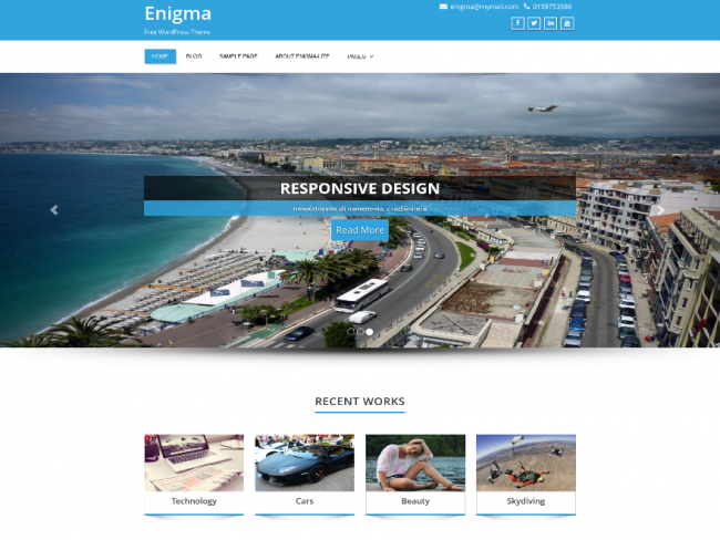 enigma-wordpress-theme