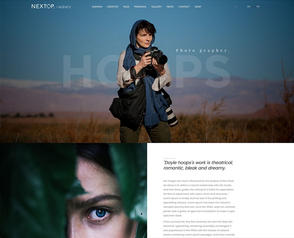 nextop-flexible-photography-wordpress-theme