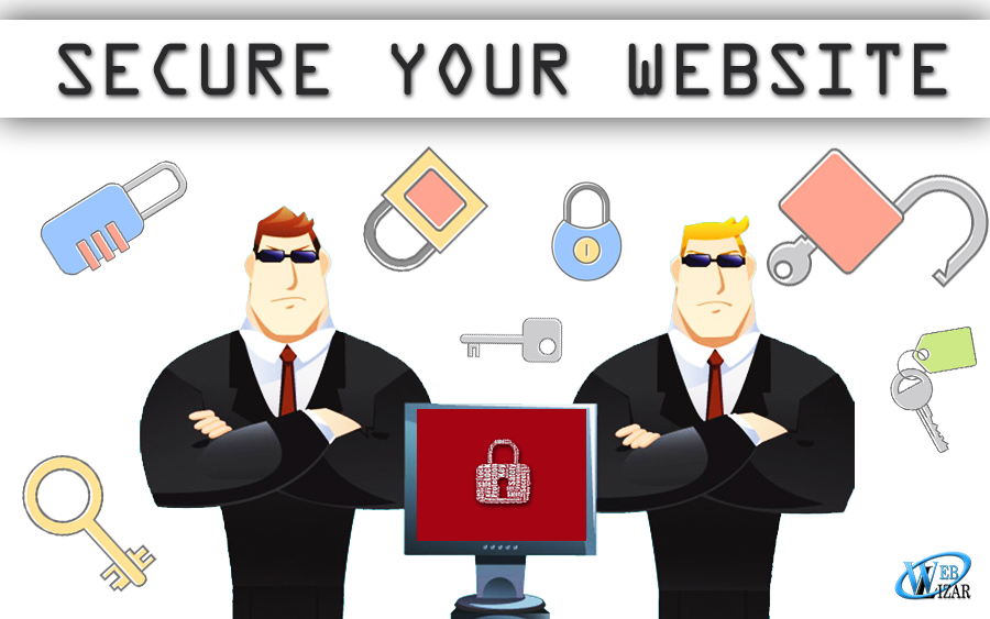security guards securing a website top ways to make website more secured