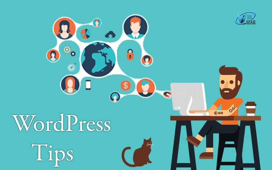 wordpress tips for designers