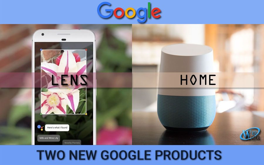 google lens and google home