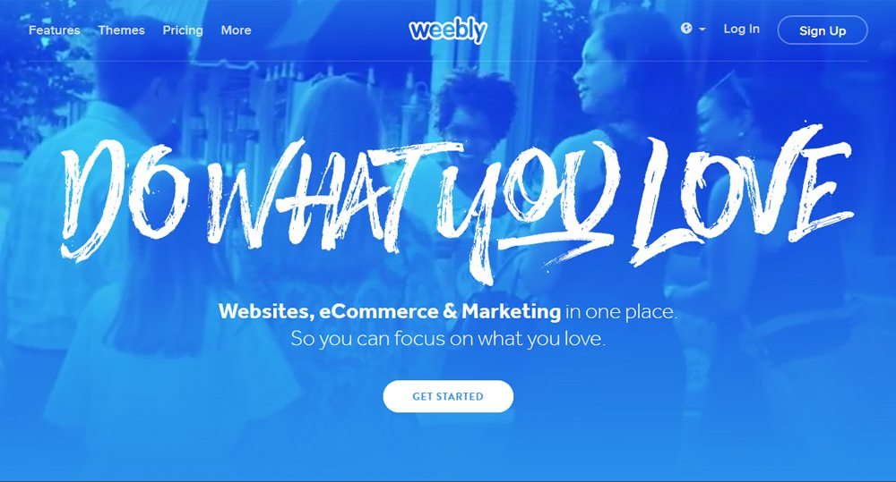 Develop A Free Blog For Writers through weebly
