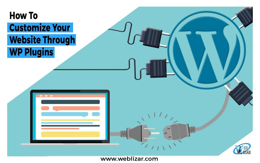 how to customize wordpress website through plugins