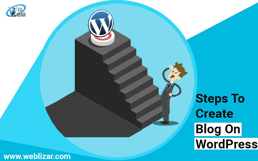 Steps to Help Create a Blog on WordPress blog on weblizar.com