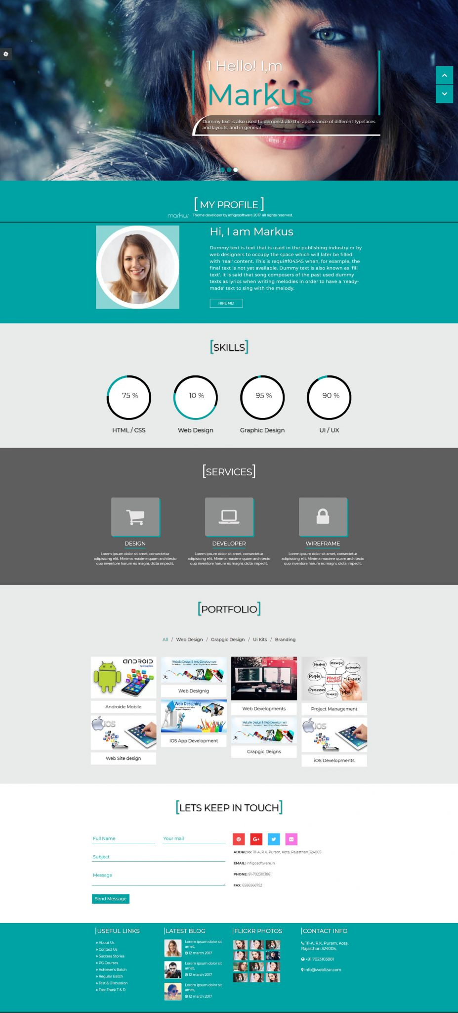 Weblizar premium html templates get trendy html templates to start your web project easy to edit seo friendly light weight html maxwellsz