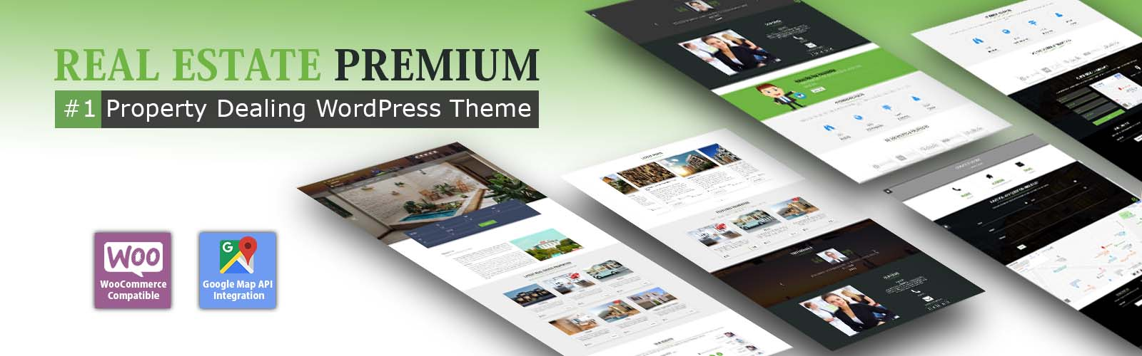 RealEstate WordPress Premium Theme - Weblizar WordPress Themes