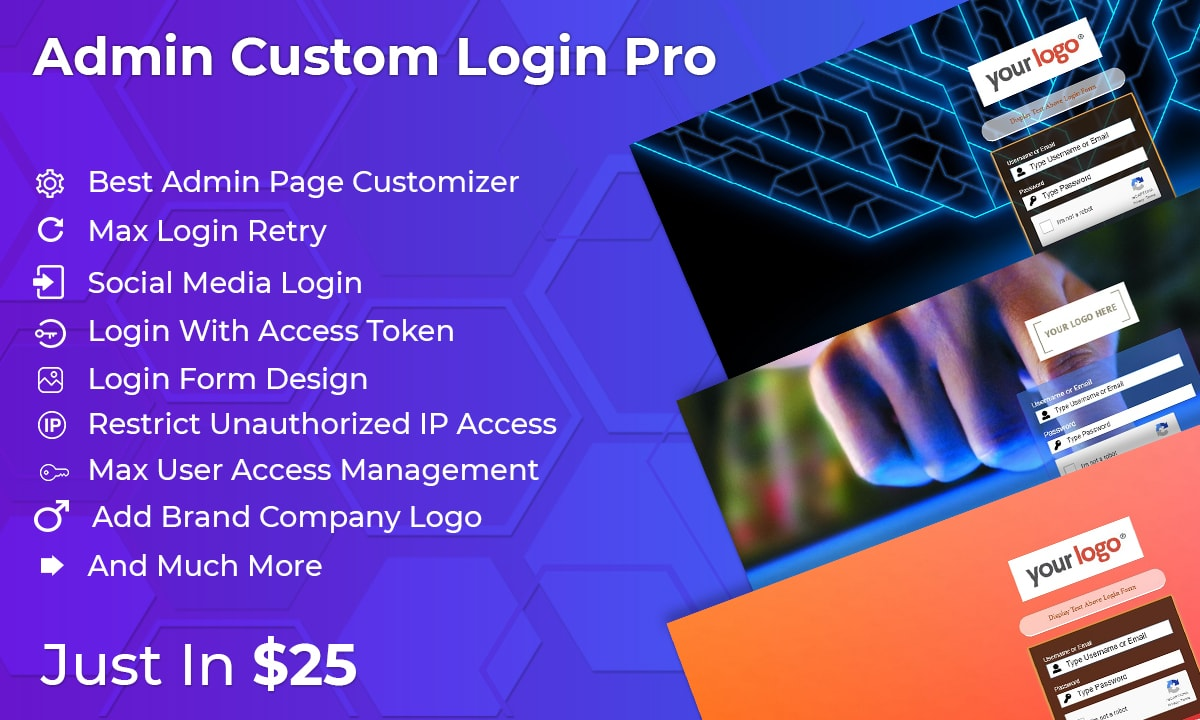 Admin Custom Login Pro WordPress Plugin
