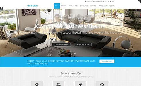 Enigma Premium WordPress theme - Weblizar Themes