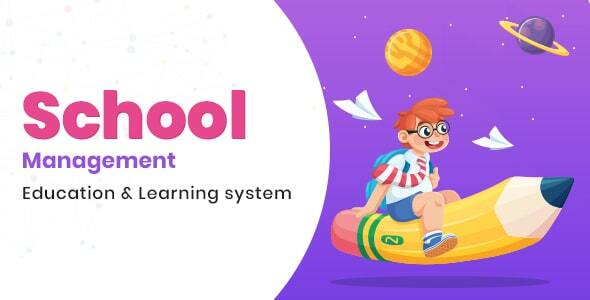 School Management - Education & Learning Management system